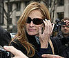 Photo of Julia Roberts Signing Autographs in Paris