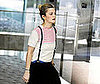 Photo of Drew Barrymore Wearing Suspenders in LA