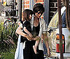 Photo of Katie Holmes and Suri Heading to Dance Class