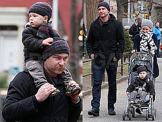 Photos of Naomi Watts and Liev Scheiber with their Son Alexander out in NYC