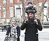 Photo of Naomi Watts and Liev Schreiber Taking Their Son Alexander for a Walk