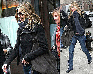 Photos of Jennifer Aniston in New York City