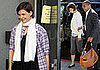 Photos of Katie Holmes at Dance Studio in LA