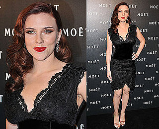 Photos of Scarlett Johansson at Moet's A Tribute to Cinema in London