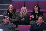 Kirsten Dunst at a Hockey Game