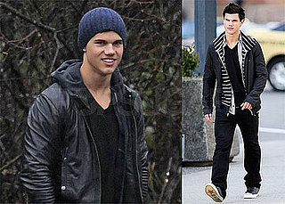 Photos of Taylor Lautner in Vancouver Filming New Moon