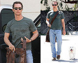 Matthew McConaughey and His Dog