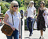Kirsten Dunst Hangs With Friends