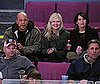 Photo of Kirsten Dunst Watching the NY Rangers Hockey Game