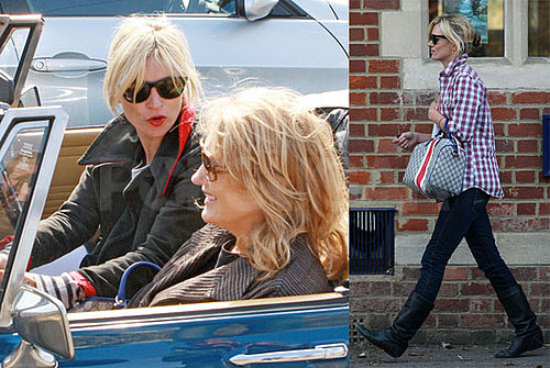 Photos of Kate Moss and Her Mom in the Cotswolds on Mother's Day