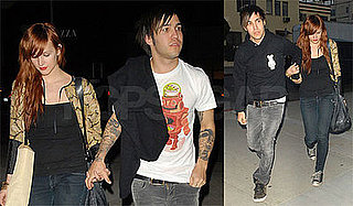 Photos of Pete Wentz and Ashlee Simpson at Dinner in LA