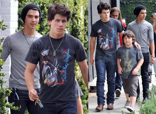 Jonas Brothers Do Lunch