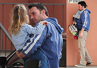 Photos of Ben and Violet Affleck in LA, Ben Teaming Up With Matt Damon For Another Movie