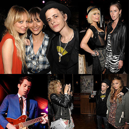 Photos of Nicole Richie, Paris Hilton, Samantha Ronson Who Supposedly Banned Lindsay Lohan From Attending Her Sister's Launch