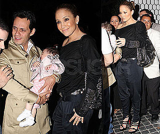 Photos of Jennifer Lopez and Marc Anthony at Dinner in LA