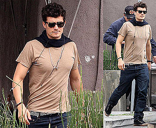 Photos of Orlando Bloom Out with a Friend in LA