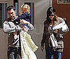 Photo of Ben Affleck and Jennifer Garner Picking Their Daughter Violet Up from School