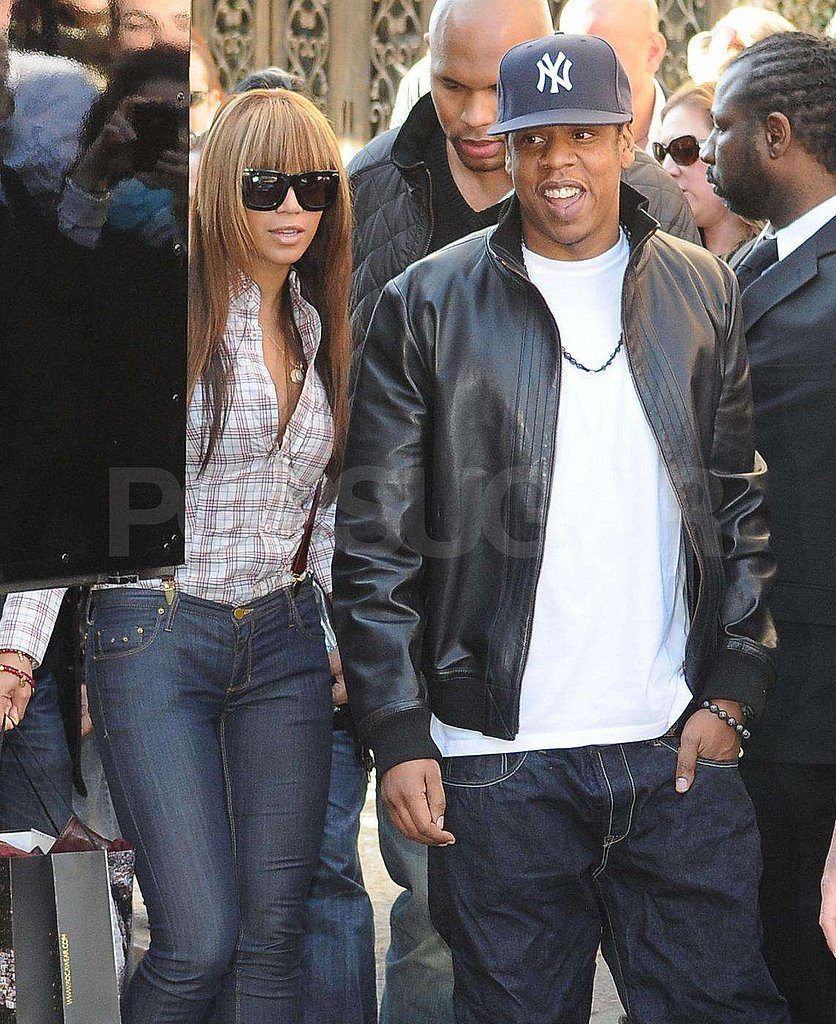 Beyonce and Jay-Z in NYC