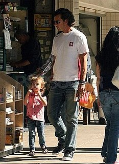 Photos of Gavin Rossdale Playing with His Son Kingston Rossdale in LA