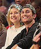 Kate and Oliver Hudson at Lakers Game