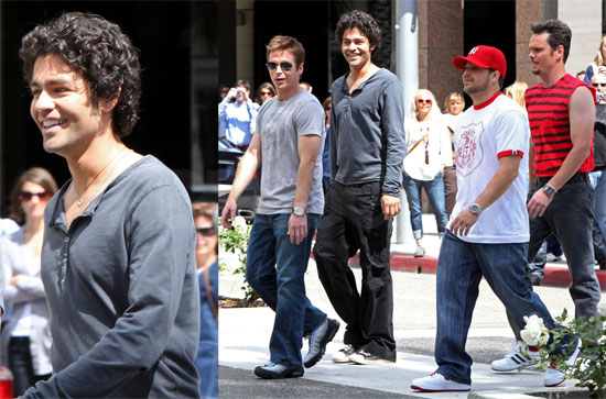 Entourage Filming in LA