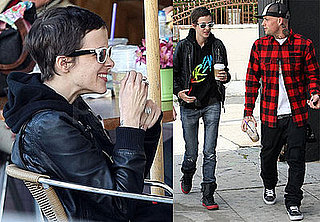 Photos of Benji Madden and Samantha Ronson, Who Just Broke Up With Lindsay Lohan, Out in LA