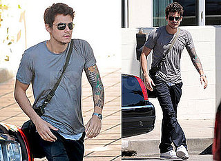 John Mayer Has a Dad Day Afternoon