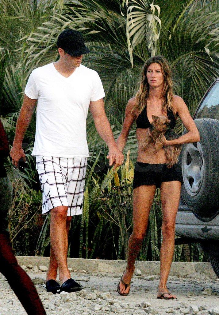 Tom and Bikini Clad Gisele in Costa Rica