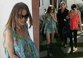 Photos of Lindsay and Ali Lohan, Lindsay Describes Break Up as Absolute Hell, Samantha Not Filing Restraining Order
