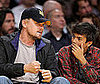 Photo of Leonardo DiCaprio at the Lakers Game