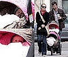Rebecca Romijn and Jerry O&#039;Connell with Twins