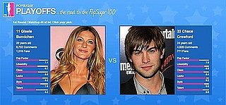 PopSugar 100 Wrapup: Chace Crawford Takes the Lead