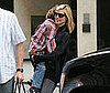 Photo of Pregnant Heidi Klum with Her Son Henry in NYC