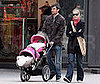 Photo of Jerry O&#039;Connell and Rebecca Romijn with Twins in Vancouver