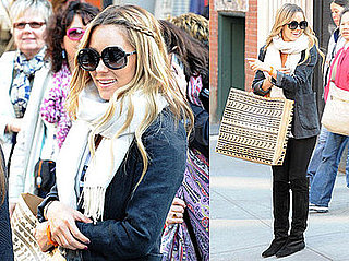 Photos of Lauren Conrad Leaving the New NYC Topshop