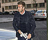 Photo of David Beckham Going to Dinner in Milan