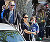 Photo of Salma Hayek, Francois-Henri Pinault and Valentina Pinault out in St Tropez on Vacation