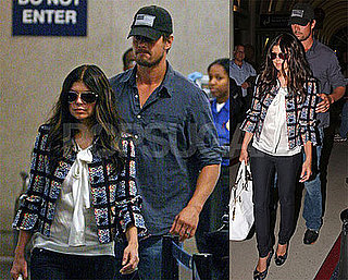 Photos of Fergie and Josh Duhamel in LA Back From DC