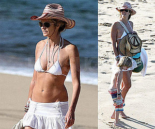 Photos of Elle Macpherson in a Bikini in Sydney, Australia