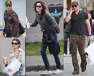 Exclusive Photos of Kristen Stewart, Peter Facinelli, Kellan Lutz, Ashley Greene of New Moon