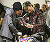 Photo of Kellan Lutz and Peter Facinelli Reading New Moon at LAX