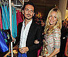 Photo of Sienna Miller and Matthew Williamson at H&M in London