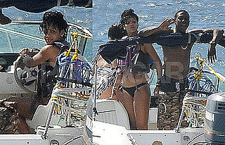 Rihanna Bikini Photos in Barbados After Katy Perry Bikini Photos