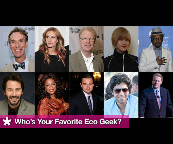 Who's Your Favorite Eco Geek?
