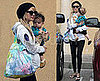 Photos of Nicole Richie and Harlow Madden Out for Starbucks in LA