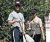 Photo of Matthew McConaughey and Camila Alves Out with Levi in LA 2009-04-21 06:30:51