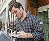 Photo of Ed Westwick Signing Autographs in London