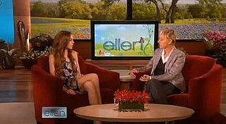 Video of Lindsay Lohan on Ellen DeGeneres Talking About Samantha Ronson