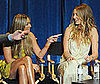 Photo of Lauren Conrad and Whitney Port Talking about The Hills During PaleyFest