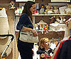 Photo of Jennifer Garner and Violet Affleck Shopping in NYC